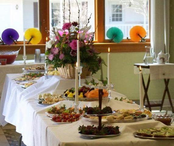 Ladies Spring Tea with delectable tea sweets and savories